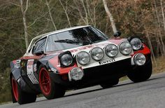 Can't beat a classic Stratos in those old Class B rally legends! #lancia