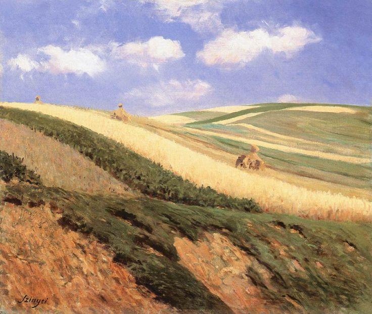 Field by Pál Szinyei Merse