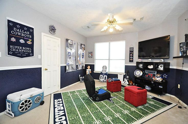 Dallas Cowboys Gameroom.