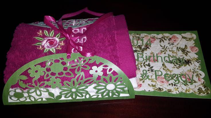 Card and Envelope wrap. Handmade by Sandi G muzzys.creations@gmail.com