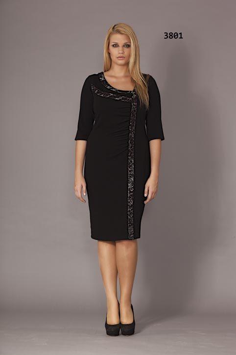 88f94442b1b6eeb Стильные платья для полных женщин турецкого бренда Gemko. Осень-зима 2013- 2014