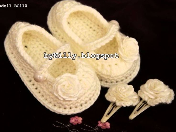 http://bynilly.blogspot.de/ by Nilly Style Häkel Babyschuhe & Taufschuhe & Krabbelschuhe & Hausschuhe & Hand Crochet Baby Shoes