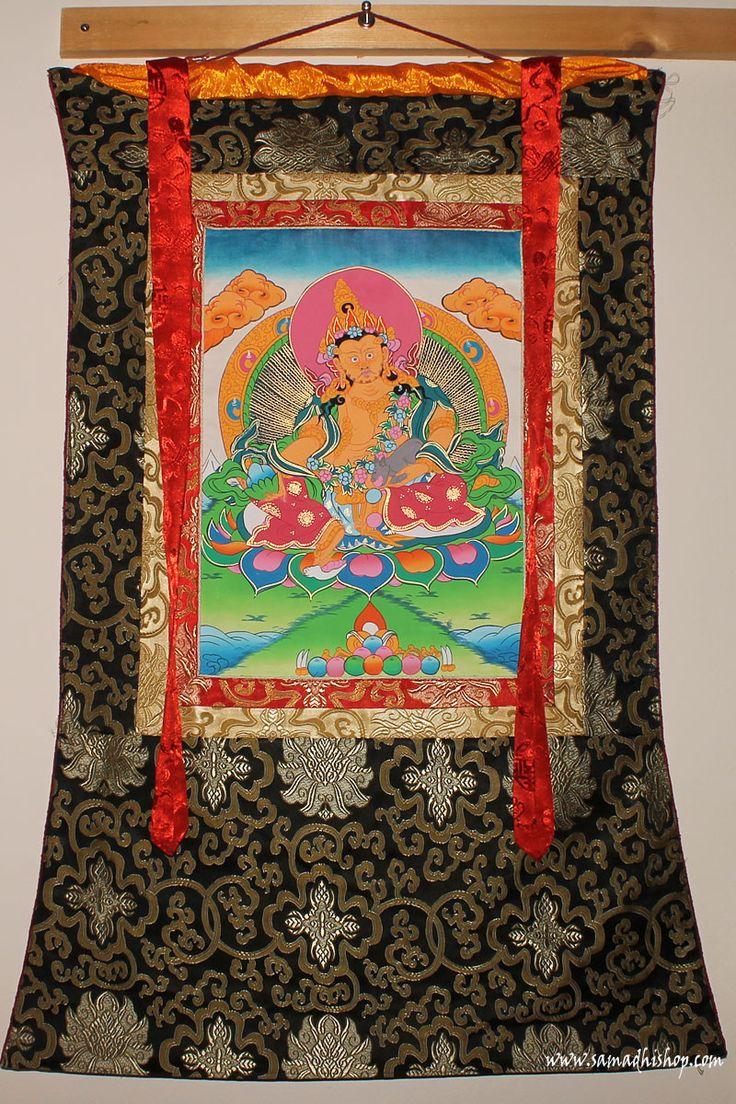 Dzambhala thangka