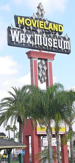 Movieland Wax Museum, Buena Park, California