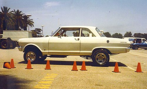 1962 Nova Gasser at Pomona Fairgrounds 1980.