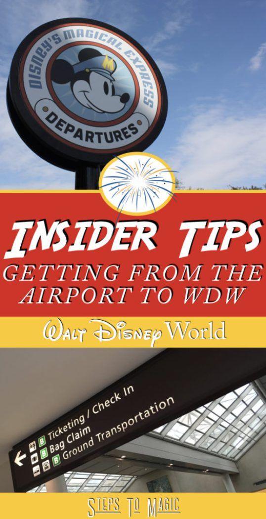 Transportation Options from Orlando International Airport to Walt Disney World - Steps To Magic | Orlando Trip Planning