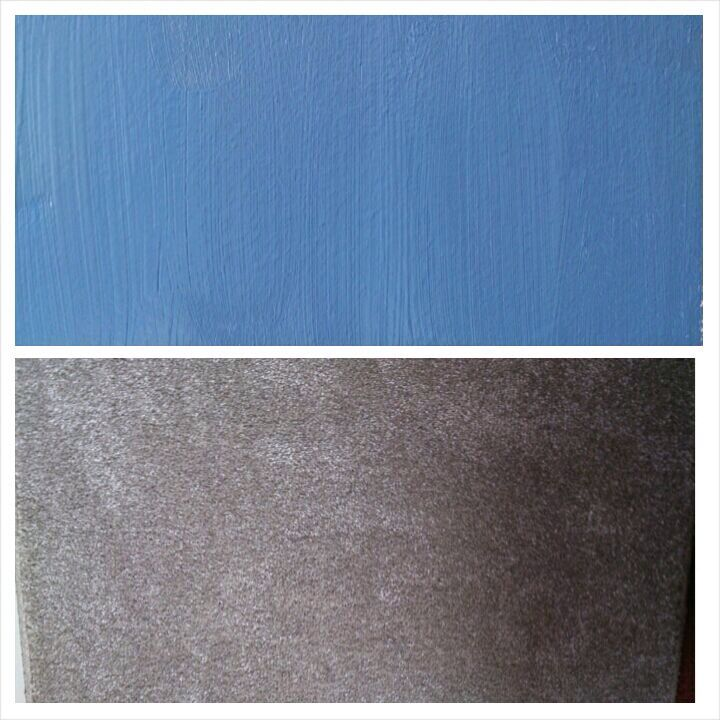Logan S Bedroom Colors Blue Walls Grey Carpet Garrett Josh Pinterest And
