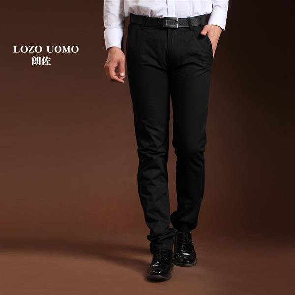 Фото чёрные штаны мужские