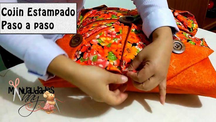 CLASE II - COJIN ESTAMPADO PASO A PASO | Manualidades Anny