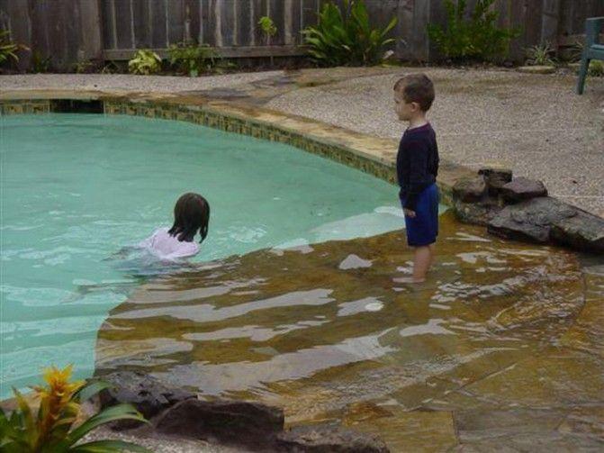 Best 25 Beach Entry Pool Ideas On Pinterest Zero Entry Pool Beach Style Hot Tubs And Beach Pool