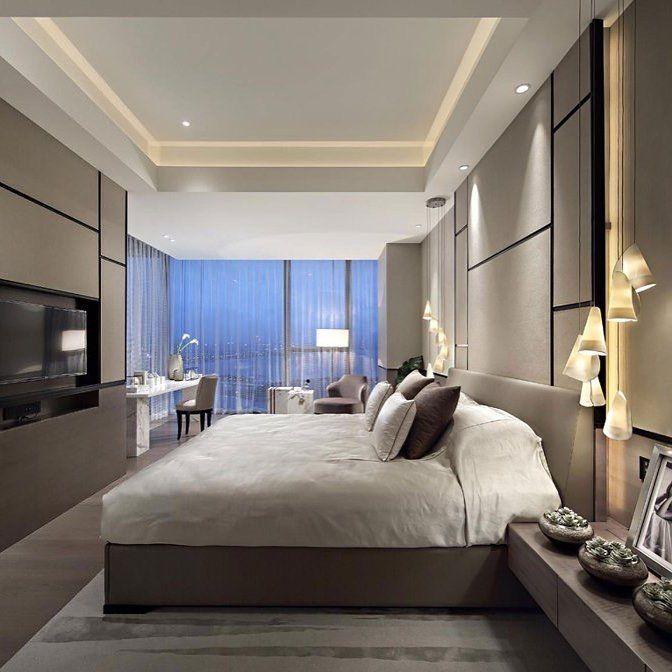 Ritzy Uk Home With Glam Metallic Accents Bedroom Design Modern Bedroom Furniture Luxurious Bedrooms