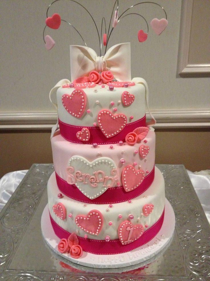 Valentine S Day Birthday Cake Kids Girls Birthday Cake Girls New Birthday Cake