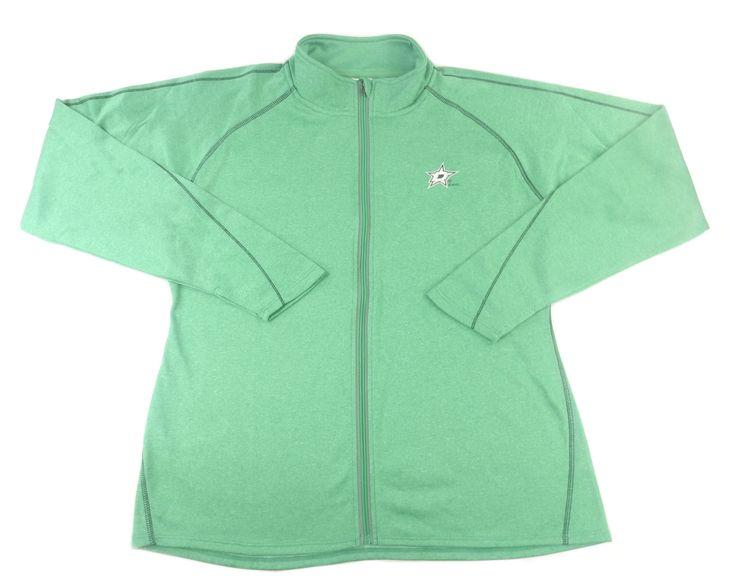 Knights Apparel Womens Size X-Large NFL League Stars Jacket, Green