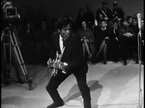 Chuck Berry - Johnny B. Goode (Live 1958) Watched him dance across the stage with his guitar about 20 years later... GO! GO! GO!