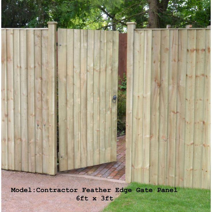 Best 25+ Feather edge fence panels ideas on Pinterest | Fence ...