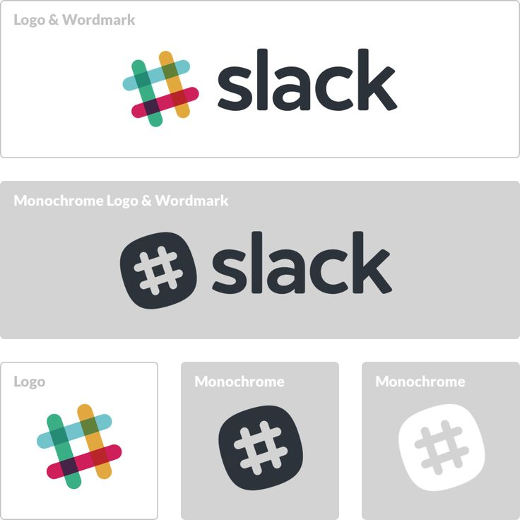 Love the simplicity of slack's logo and how it ties so closely to how the app works. The hashtag can stand well on it's on, but looks great with the name as well. The color scheme is awesome too.
