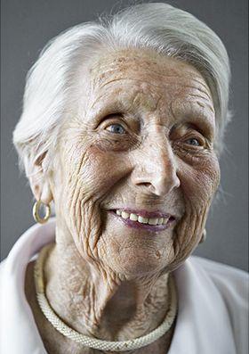 Happy at 100: Portraits of Centenarians #seniors