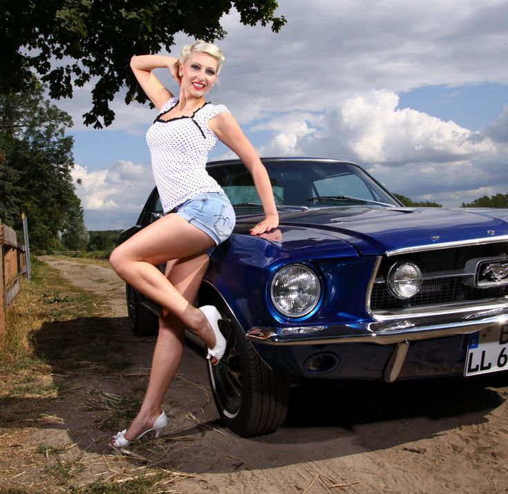 pin girls and cars - photo #21
