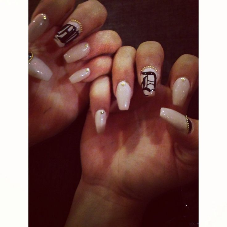 3D Nails - Upland, CA, United States. Love my nails!!