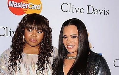 Singer Faith Evans and daughter Chyna