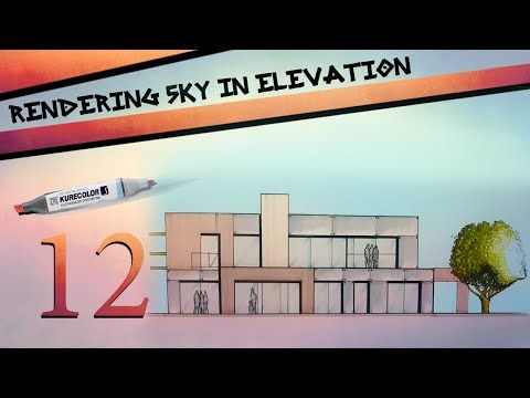 Rendering Sky In Elevation - YouTube