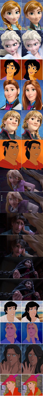 Disney character gender swap! Who is your favorite?