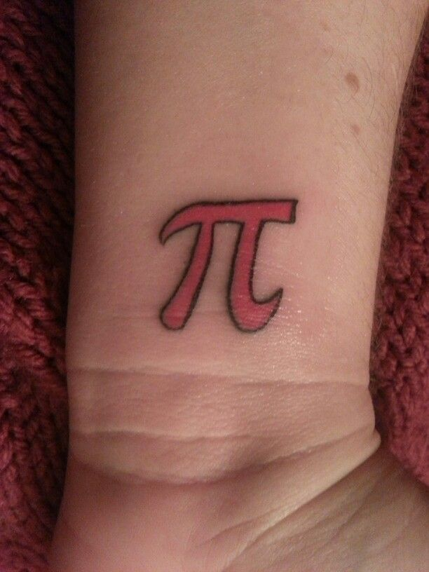 My Pi tattoo!