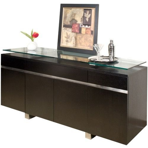 Novo Dining Buffet - Wenge - Buffets & Sideboards at Hayneedle