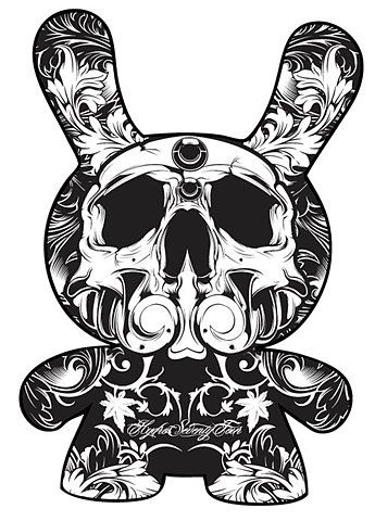 Illustration dunny of the dead by hydro74