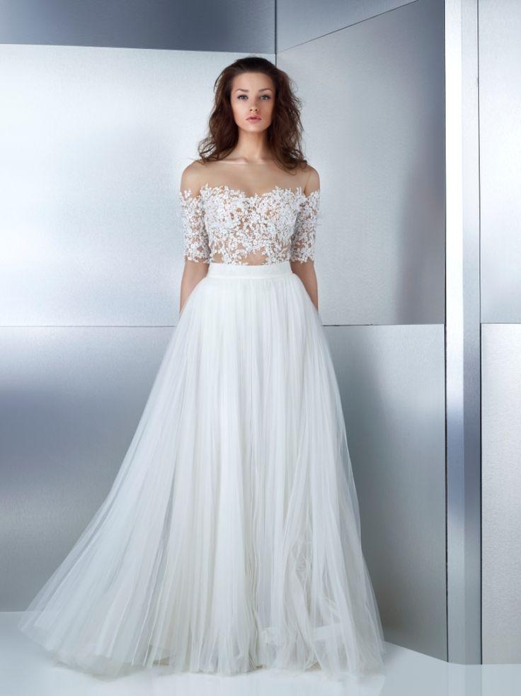 15 best Wedding Dresses 2017 images on Pinterest | Wedding frocks ...