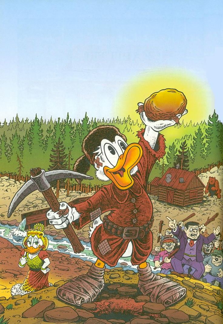 Scrooge McDuck by Don Rosa      ........................................................ Please save this pin... ...  Because for real estate investing - Visit!  http://OwnItLand.com