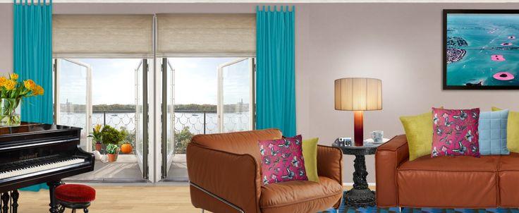 'Riverside Apartment' created in #neybers