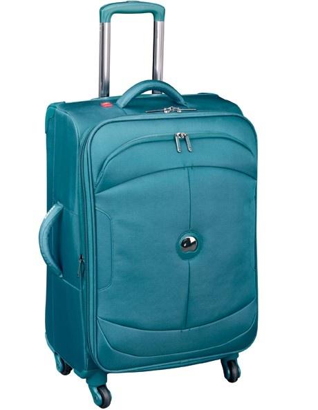 Delsey - U-Lite 4 Wheel Suitcase in Blue