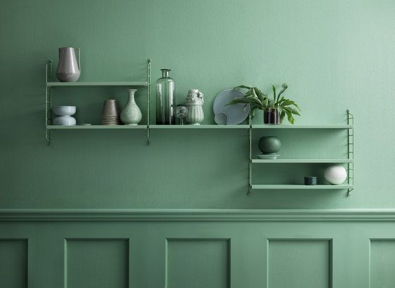 string pocket green de string furniture | Architonic
