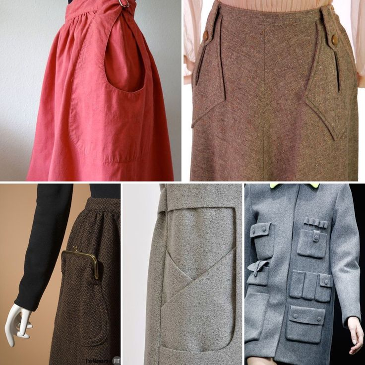 Inspiration: 26 patch pocket ideas  |  Colette Blog