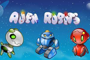 Alien Robots - Viele Menschen glauben an außerirdisches Leben und auch die Macht der Roboter wird für die Zukunft eine wichtige Frage sein. #AlienRobots  http://www.spielautomaten-online.info/alien-robots/