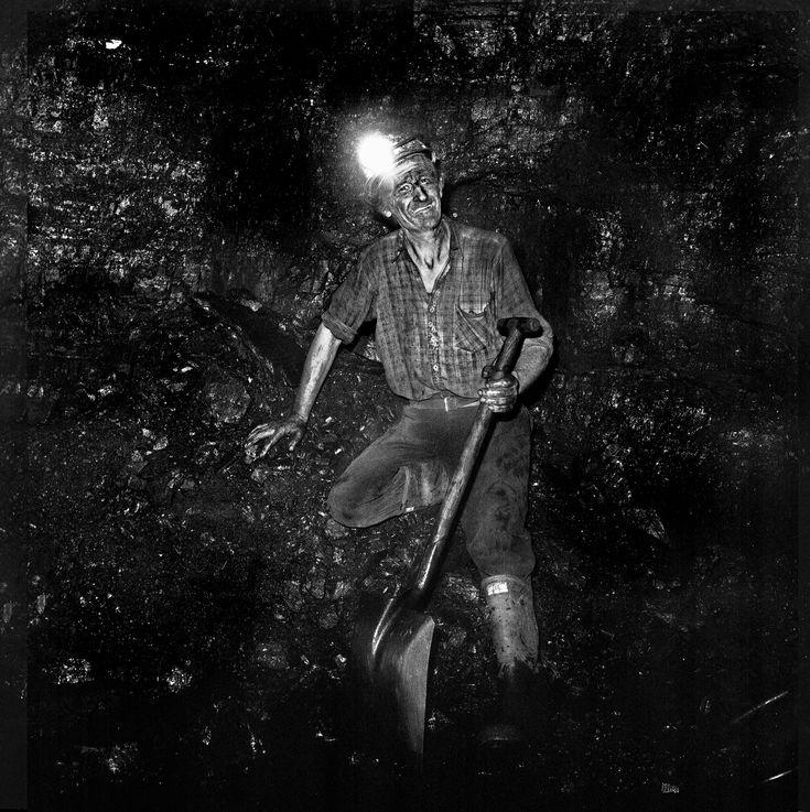 'Rocky', Big Arch Colliery. 1980 Coal mining