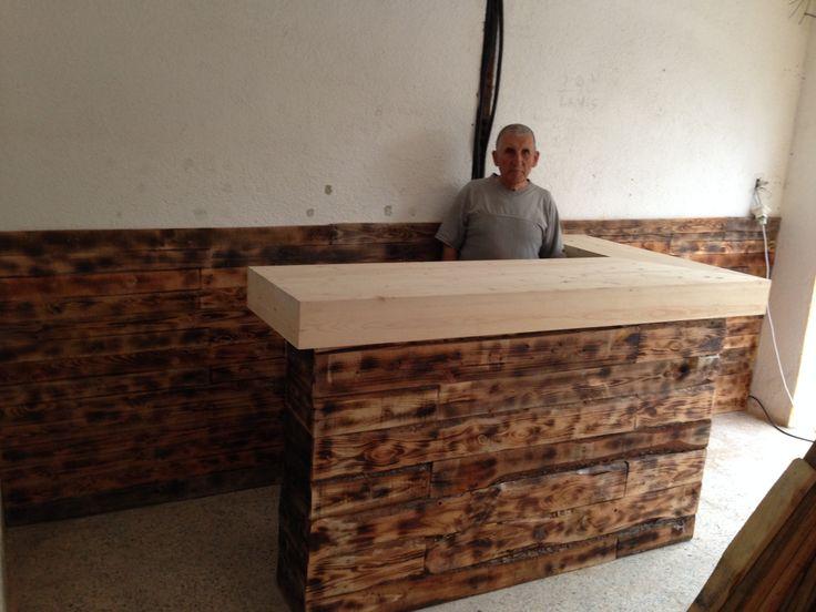 Ya tenemos la Barra del Bar. #DIY