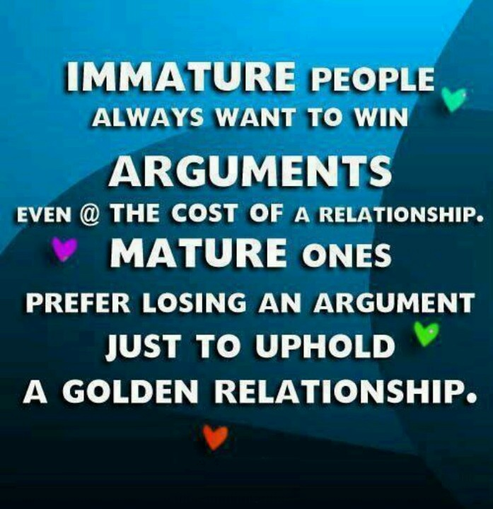 Remember this when you are arguing with your boyfriend or girlfriend, wife or husband.