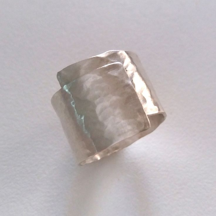 Asimi - Ασημένιο σφυρήλατο δαχτυλίδι