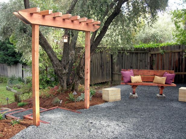 How to Build a Simple Garden Arbor!