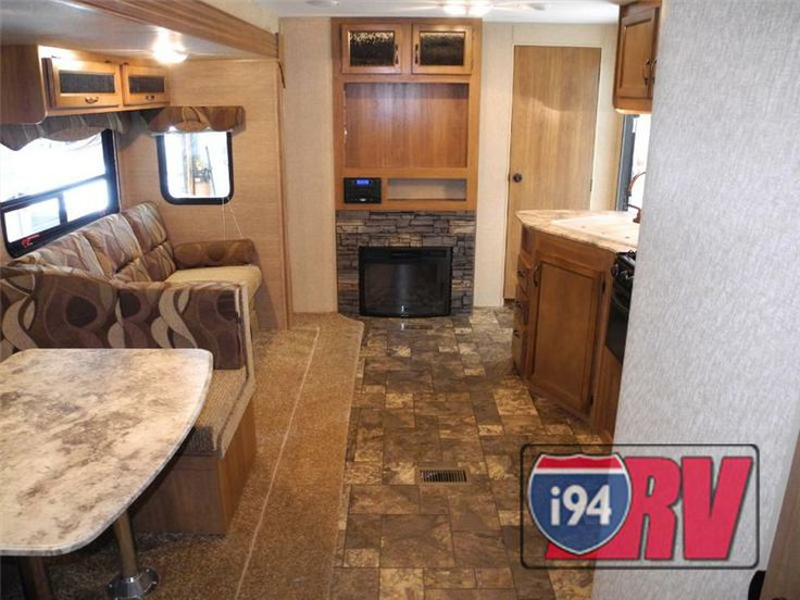 Coachmen Catalina 323bhds Bunkhouse Fireplace Travel