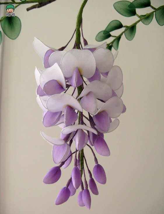 sheer nylon Wisteria