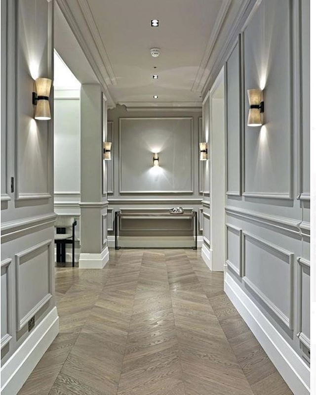 Crown Molding Heaven As Seen On Pinterest Wainscoting Styles Dining Room Wainscoting House Design