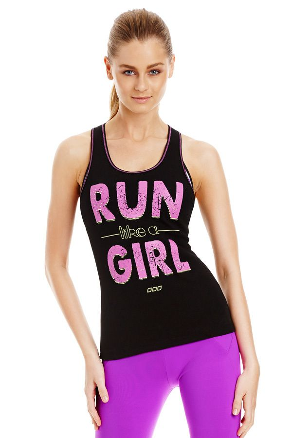Run Like A Girl Tank | Just Landed