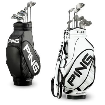 Who and I kidding....Steve has the clubs and the bag in white! Ping Golf Clubs/  DONE THIS BELONGS TO MY SWEETHEART!