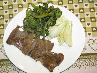 Per tutti i gusti : Le ricette di Ferdinando: Fegato di vitello con insalata di finocchio e broc...