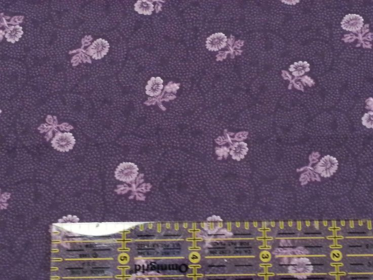 Ozark Calico BTY by Fabri Quilt Dusty Purple Tonal Flowers Floral | eBay Main fabric for the skirt