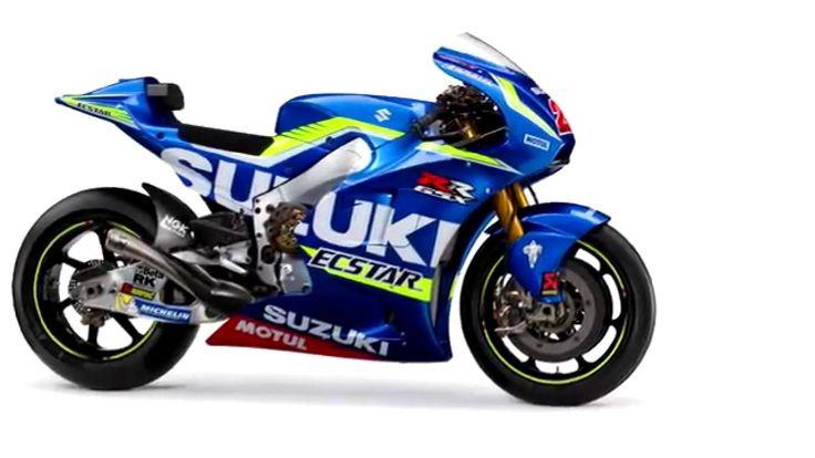 2016 #Suzuki GSX-RR MotoGP Bike Slideshow HD Studio Photos