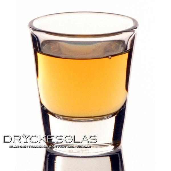 Whiskey Shotglas 4,4 cl - Dryckesglas.se